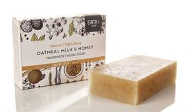 OATMEAL, MILK & HONEY ALL NATURAL SOAP (SET OF 3) - $20.00