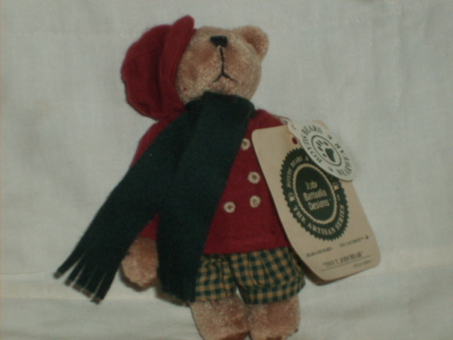 "Primary image for BOYDS BEARS AR 5"" GOLD TINY T JODIBEAR MINT RET NWT"