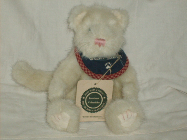 "Primary image for BOYDS BEARS T.J. #915600 8"" ROBYN PURRSMORE RET NWT"