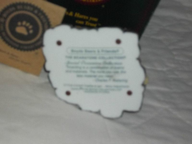 "BOYDS BEARSTONE #81007 3-1/2""T FRANKIE & IGOR HALLOWEEN NIB RET MINT MSRP $25"