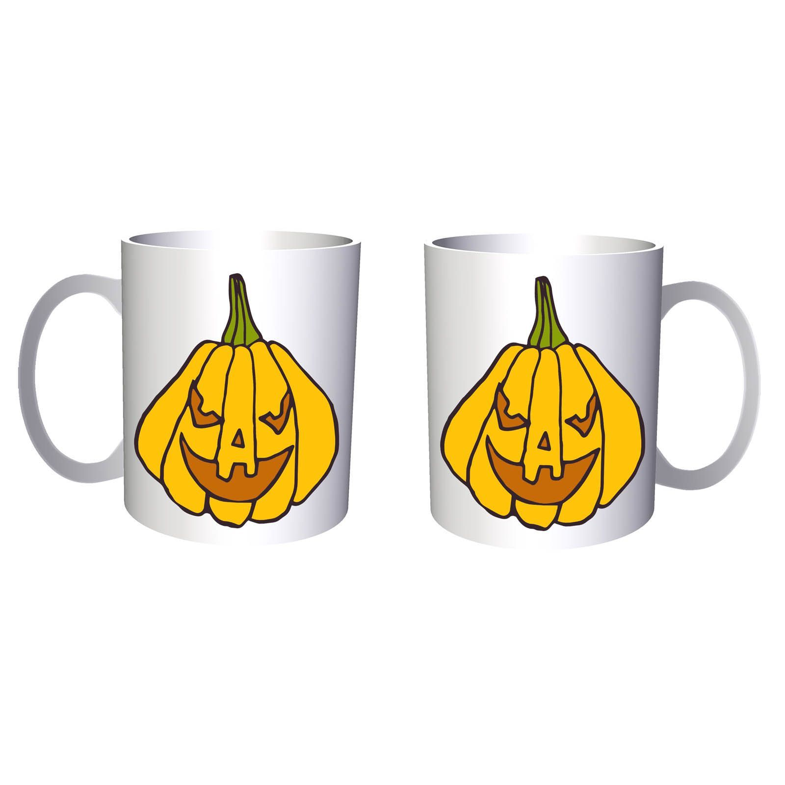 Crazy Halloween Pumpkin 11oz Mug q216