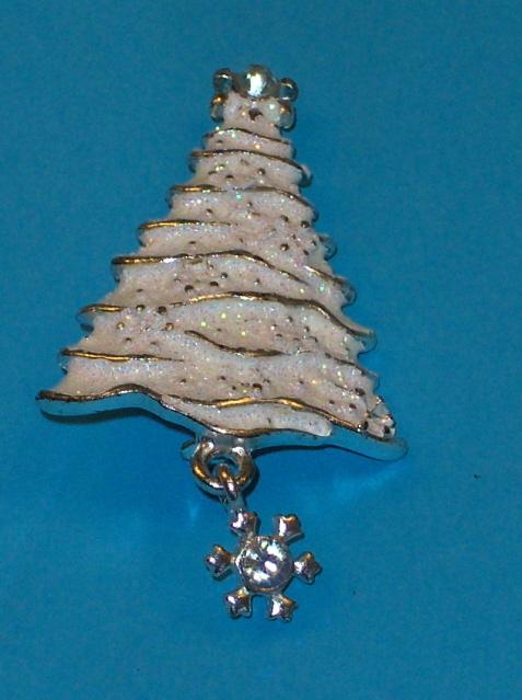 Christopher Radco Christmas Tree Brooch Pin