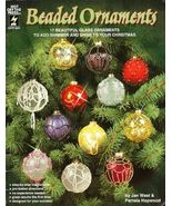 Y219 Bead PATTERN Book ONLY Beaded Ornaments 17 Christmas Ornaments Covers - $37.50