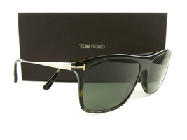 Tom Ford Sunglasses TF588 Max-02 52R Havana Green Polarized FT0588/S Authentic - $249.00