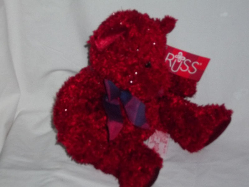 "RUSS BERRIE Bears From the Past 10"" T SIZZLES NWT MINT"