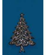 Christmas Tree Brooch Pin  Judy - £11.76 GBP