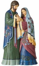 """The Holy Family Figures Scuplture Hand Painting Jim Shore By Enesco 11.25"""" - $173.24"""