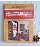 Book Country Furniture Woodworking Guide Hardback 1990 Rodale How To Crafts - $16.00