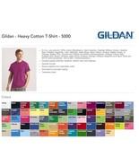 15 Gildan Heavy Cotton T-Shirt Wholesale Bulk Lot ok mix 2XL 3XL 4XL 5XL... - $93.66