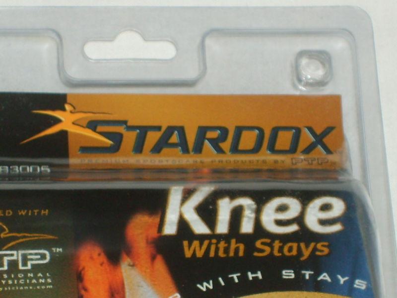 STARDOX TRUFIT PATELLA STABILIZER w/ STAYS COOLMAX MENS' OR WOMENS' NEW in PKG