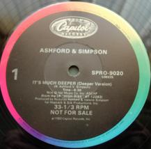 Ashford & Simpson - It's Much Deeper - Capitol SPRO-9020 - PROMO - $3.00