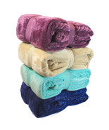 "NEW Warm Super Soft Velvet Plush Lounge Throw Blanket Twin 66""x96"" 4 COLORS - $39.99"