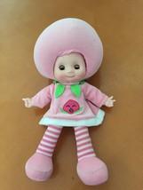 "17"" Strawbery Shortcake Big Head Soft Body Talking Doll Stuffed Plush Gi... - $5.93"