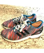 ADIDAS TORSION MENS MUTLI COLORED RUNNING SHOES BLUE SIZE 6 - $24.70