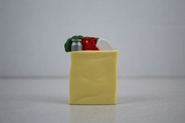 FISHER PRICE Loving Family Dollhouse Paper bag of Groceries - $3.95