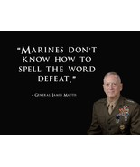 General James Mattis Poster USMC Poster 24x36 - £21.59 GBP