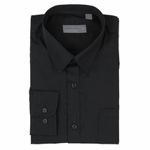Alberto Cardinali Men's Tailored Fit Long Sleeve Wrinkle Resistant Dress Shirt image 2