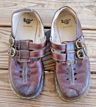 Dr. Martens Size 38 EU / 6 US 2A79 Women's Brown Leather Mary Jane Monk ... - $32.29