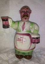 vintage man with beer decanter - $19.80