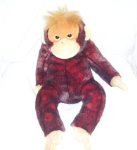 "Ty SCHWEETHEART The Monkey Large Beanie Buddy from 1999 18"" - $49.96"