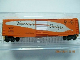 Micro-Trains # 50500482 Western Pacific  50' Standard Boxcar Z-Scale image 1