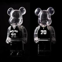 BE@RBRICK 400% Hong Kong Limited 70th Anniversary BA San Antonic SPURS - $316.99
