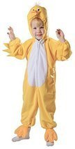 UHC Plush Duckling Jumpsuit Toddler Kids Outfit Fancy Dress Halloween Co... - $22.95
