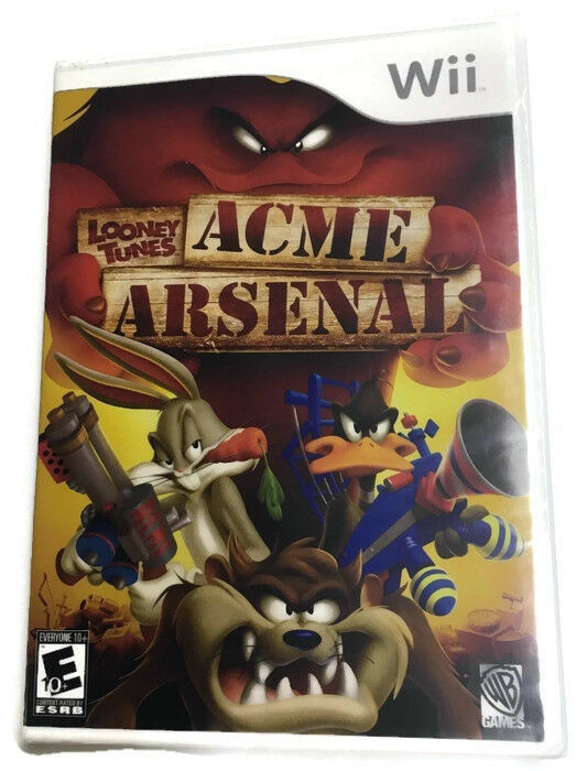 Looney Tunes: Acme Arsenal Video Game COMPLETE Nintendo Wii