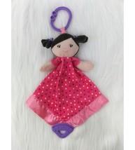 Garanimals Doll Baby Lovey & Security Teether Blanket Pink Polka Dots B175 - $9.99