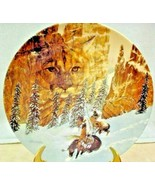 Canyon of the Cat Collector Plate Julie Kramer Cole Faces of Nature Series - $5.00