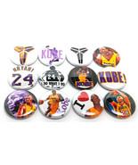 "12 KOBE One Inch Buttons 1"" Pinbacks Pins I LOVE BRYANT - Basketball NBA Koby - $6.99"