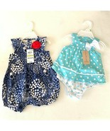 NWT FIRST IMPRESSIONS BABY GIRL SUNSUITS 0-3 MONTH - $20.79