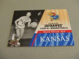 2013 Upper Deck #22 Butch Ellison -Kansas Jayhawks Basketball- - $3.12