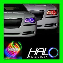 2011-2014 CHRYSLER 300 300C COLORSHIFT LED LIGHT HEADLIGHT HALO KIT by O... - $361.99