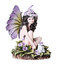 "Viola Purple Violet Fairy ""Thinking of You"" Fantasy Collectible 4.75 Inches - $27.71"