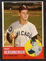 1963 Topps #254 Mike Hershberger NRMT White Sox *4995* - $4.00