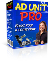 Ad Unit Pro W/ Master Resell Rights - $1.89
