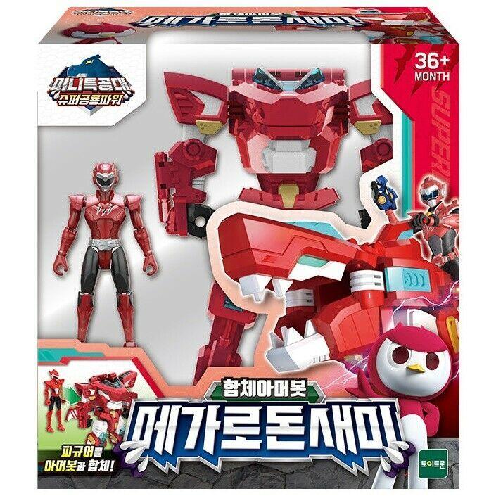 Miniforce Megalodon Sammy Transformation Action Figure Super Dinosaur Power 2