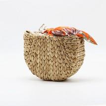 2019 Summer New Straw Beach Shell Messenger Bag Rattan Weave Crossbody B... - $53.50