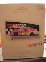 Hallmark Keepsake NASCAR The Race Is On! with sound - $9.00