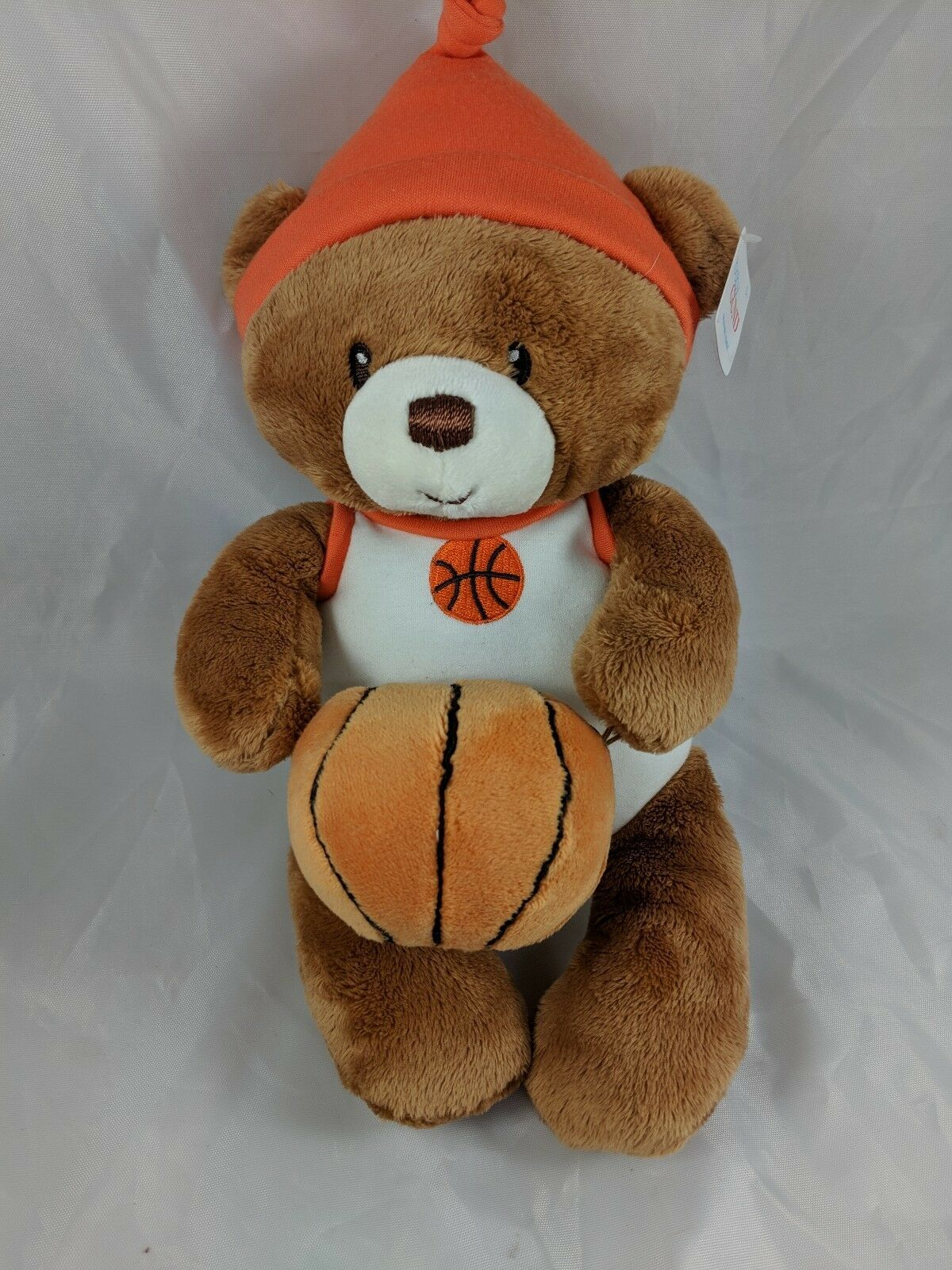 Primary image for Baby Gund Little Hoopster Basketball Bear Rattle Plush 4050504 Stuffed Animal