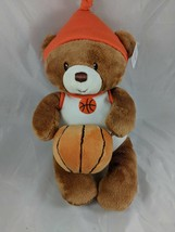Baby Gund Little Hoopster Basketball Bear Rattle Plush 4050504 Stuffed A... - $8.95