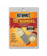 HotHands Toe Warmers 14 Pair with adhesive Stays warm for up to 8 hours ... - $15.04