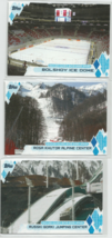 2014 TOPPS OLYMPIC & PARALYMPIC LOT OF FOUR (4) OLYMPIC VENUES INSERTS - $4.99