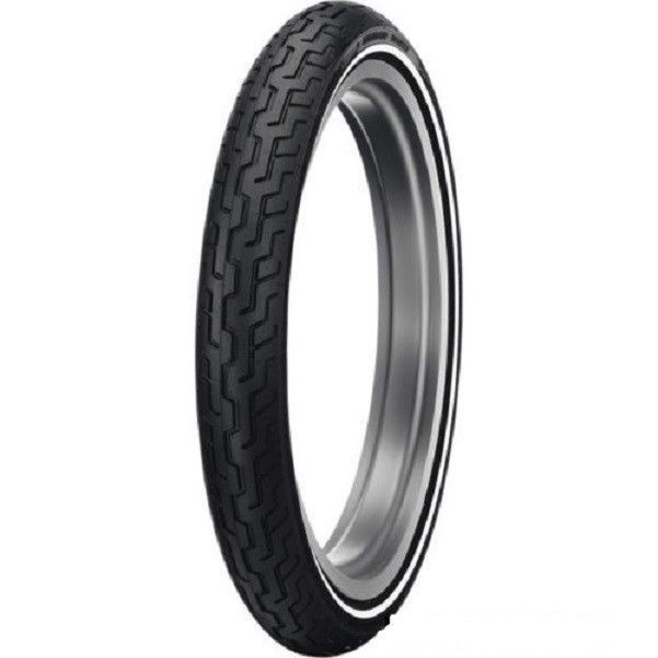 New Dunlop D402 Harley Davidson Front Medium Whitewall Tire MH90-21 54H TL