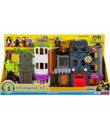 Imaginext Crime Alley Legends of Batman Two House Playset Joker House an... - $227.21