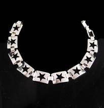 Sterling Star Bracelet - Ladies celestial gift - Hippie jewelry  silver ... - $75.00