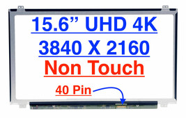 LTN156FL02-P01 LCD Screen UHD 3840x2160 Display 15.6 in - $116.82