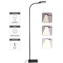 Twinkle Star Gooseneck Floor Lamp Dimmable LED Standing Lamp, Reading Lamp for L