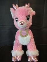Build-A-Bear Workshop Twinkle Deer Pink Reindeer Christmas 2017 Version - $29.90